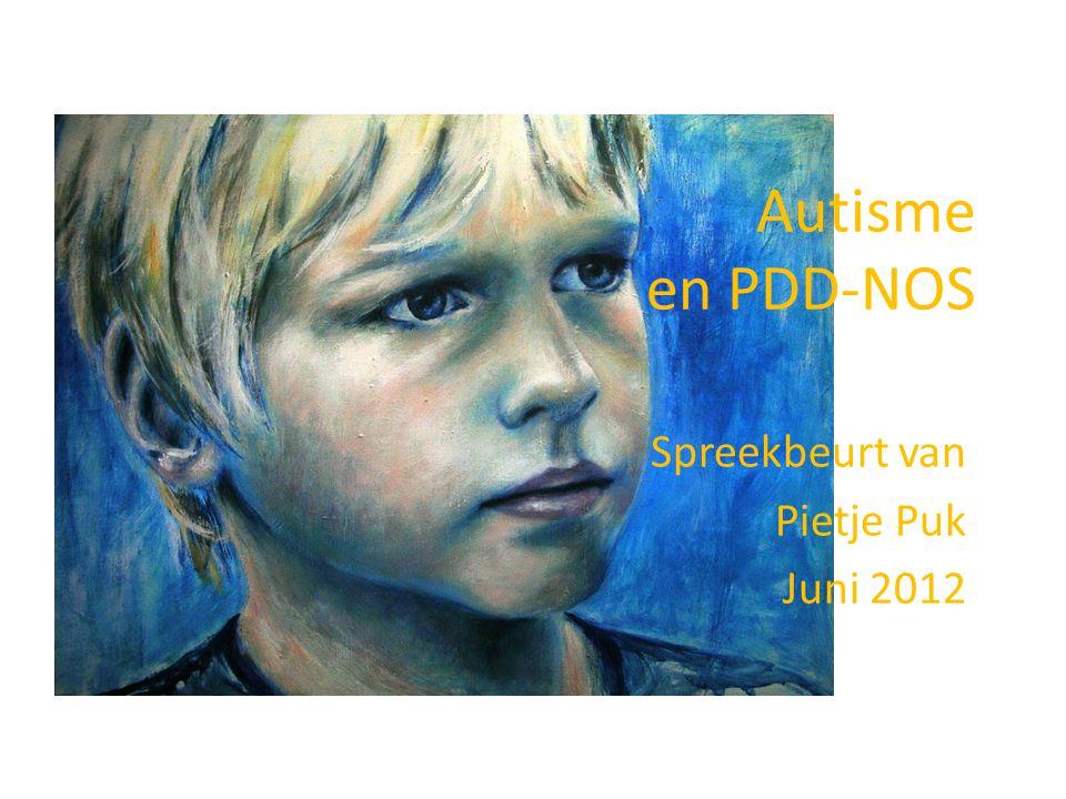 Spreekbeurt van Pietje Puk Juni 2012
