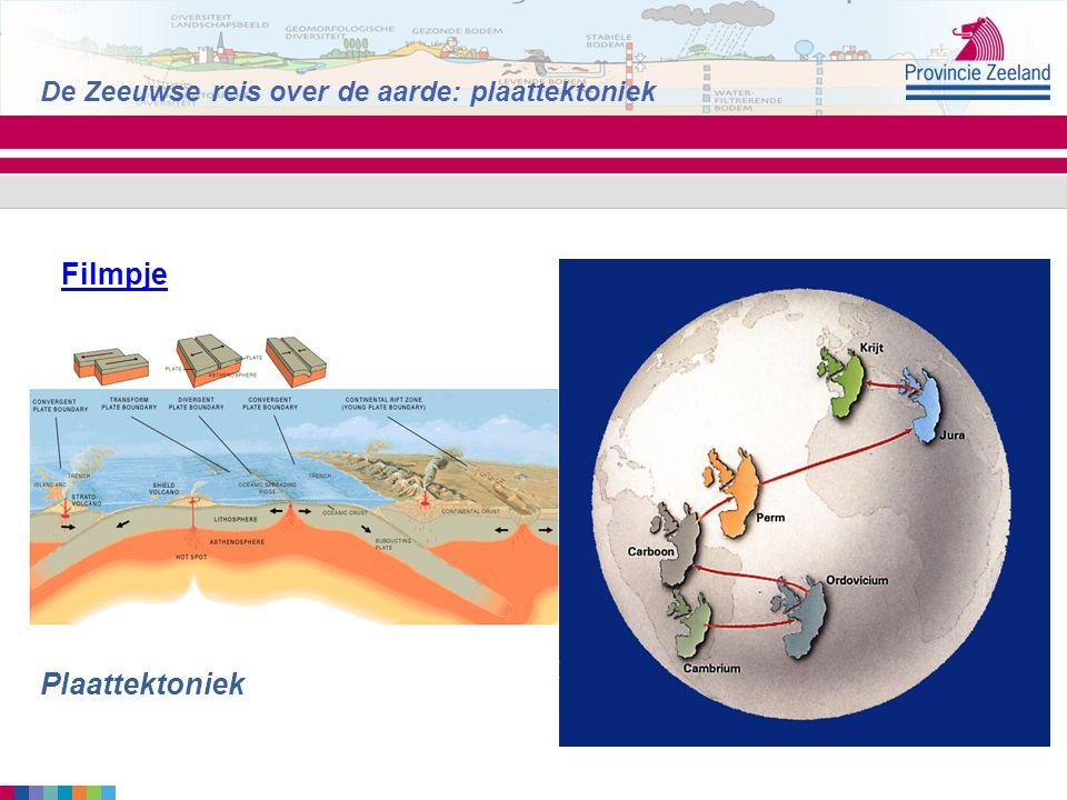 Filmpje Plaattektoniek De Zeeuwse reis over de aarde: plaattektoniek