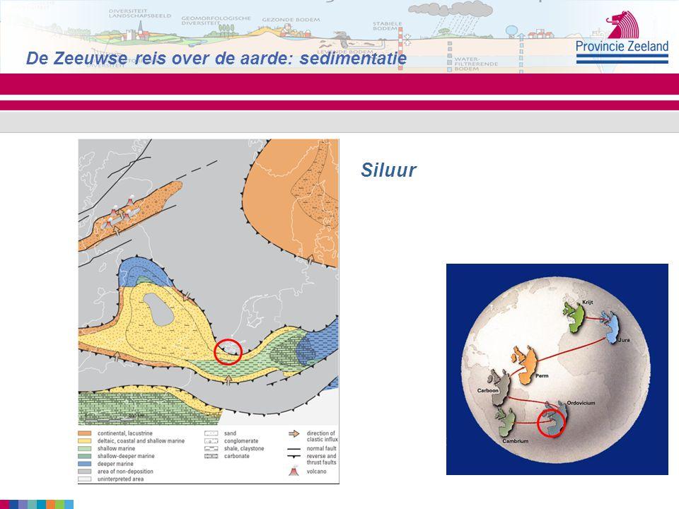 Siluur De Zeeuwse reis over de aarde: sedimentatie