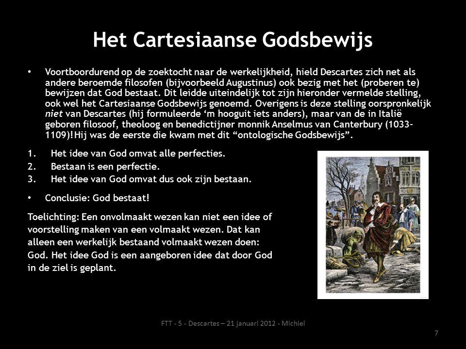Het Cartesiaanse Godsbewijs