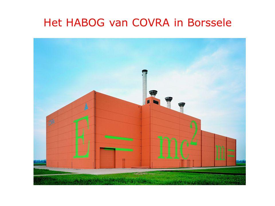 Het HABOG van COVRA in Borssele