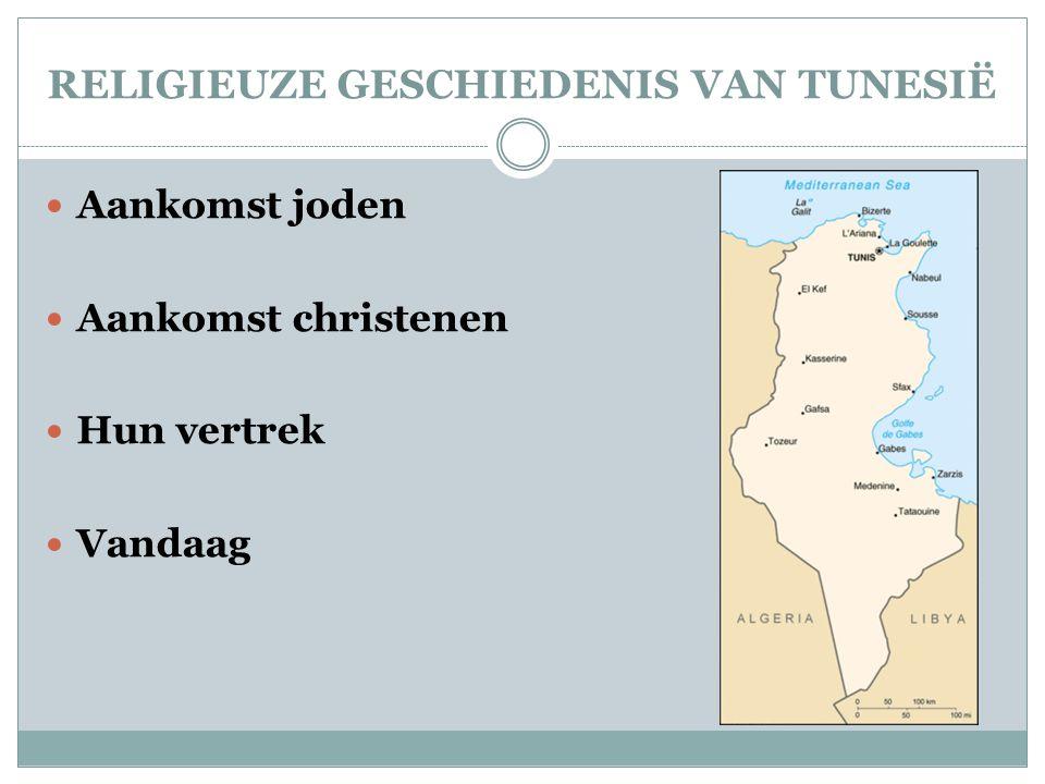 RELIGIEUZE GESCHIEDENIS VAN TUNESIË