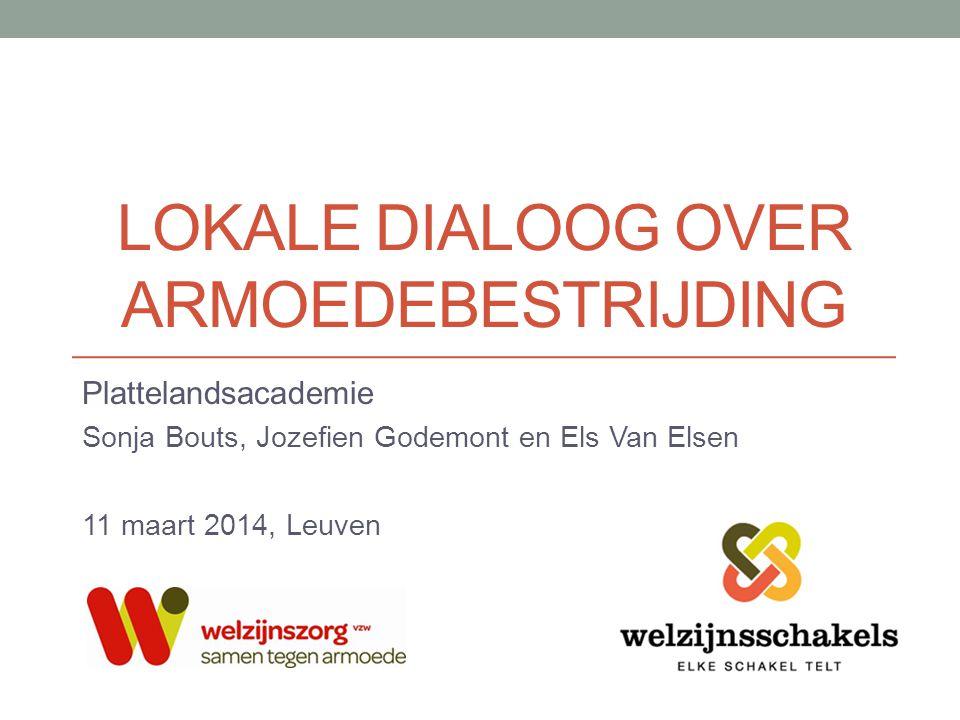 Lokale dialoog over armoedebestrijding