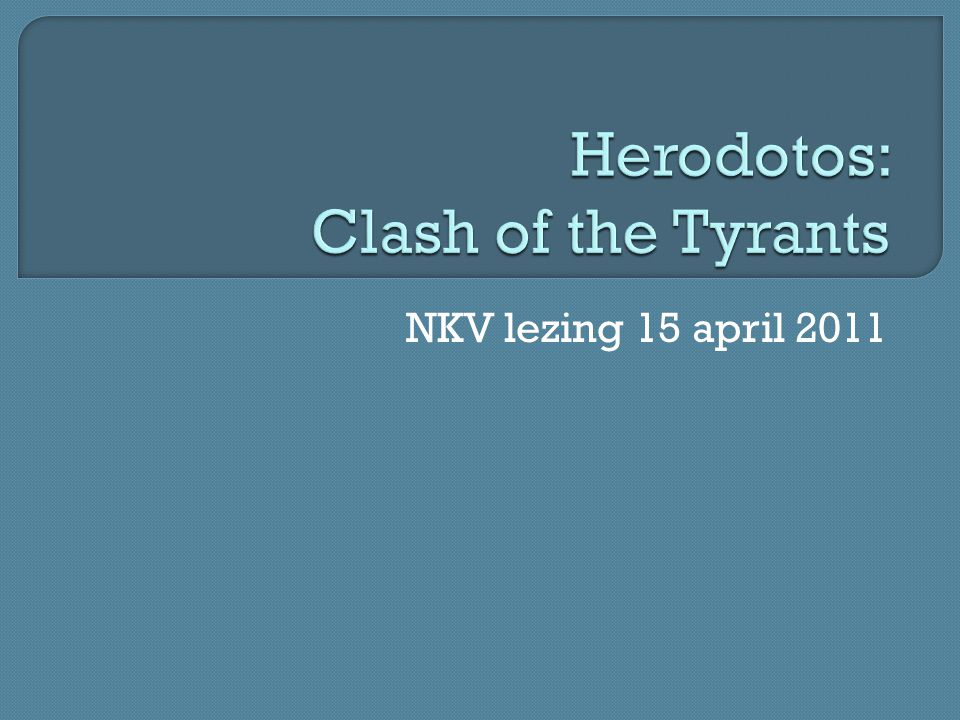 Herodotos: Clash of the Tyrants