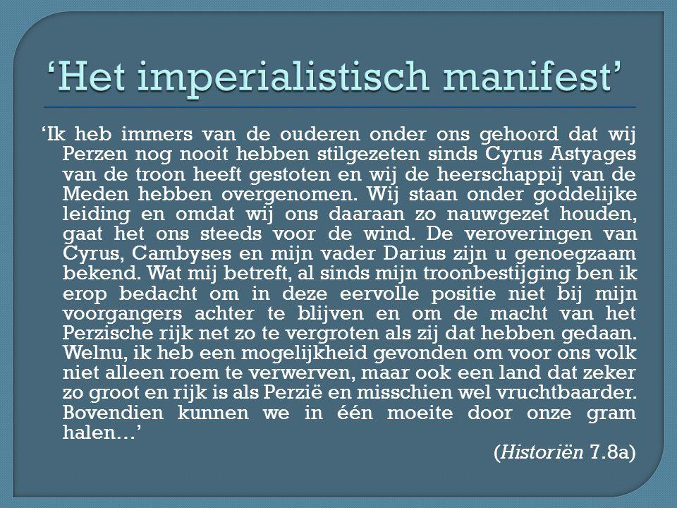 'Het imperialistisch manifest'
