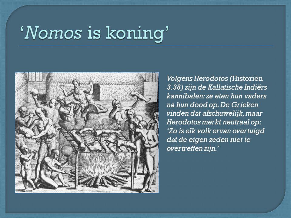 'Nomos is koning'