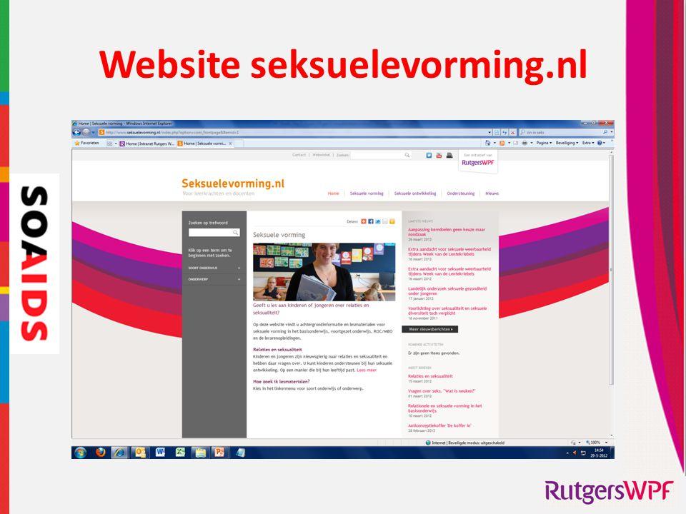 Website seksuelevorming.nl