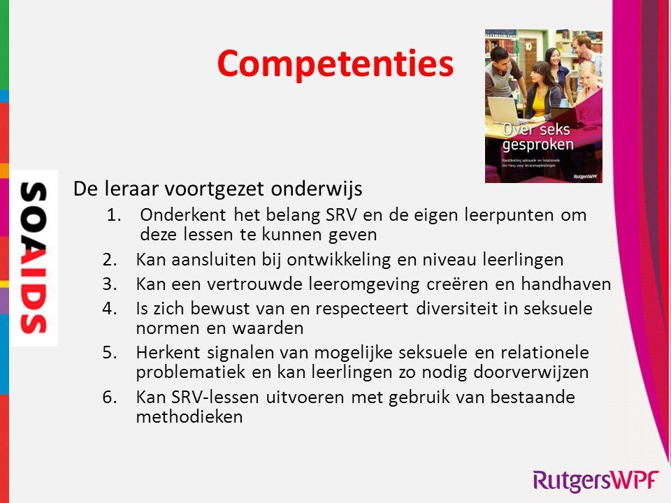 Competenties De leraar voortgezet onderwijs