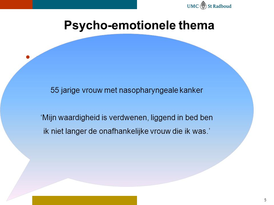Psycho-emotionele thema