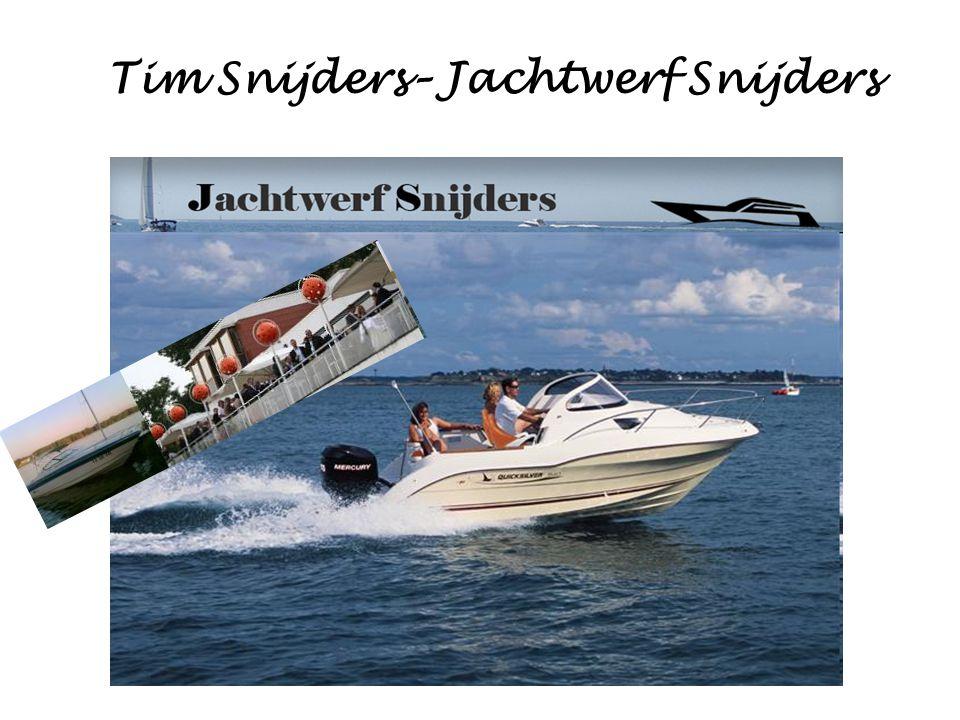 Tim Snijders– Jachtwerf Snijders
