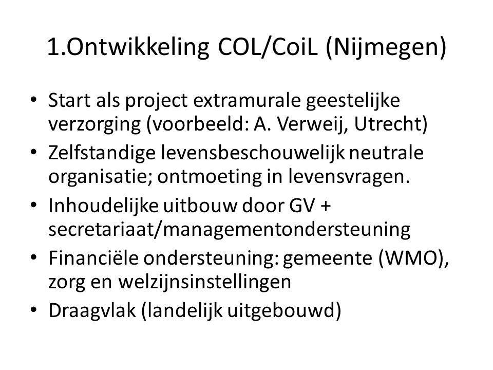 1.Ontwikkeling COL/CoiL (Nijmegen)