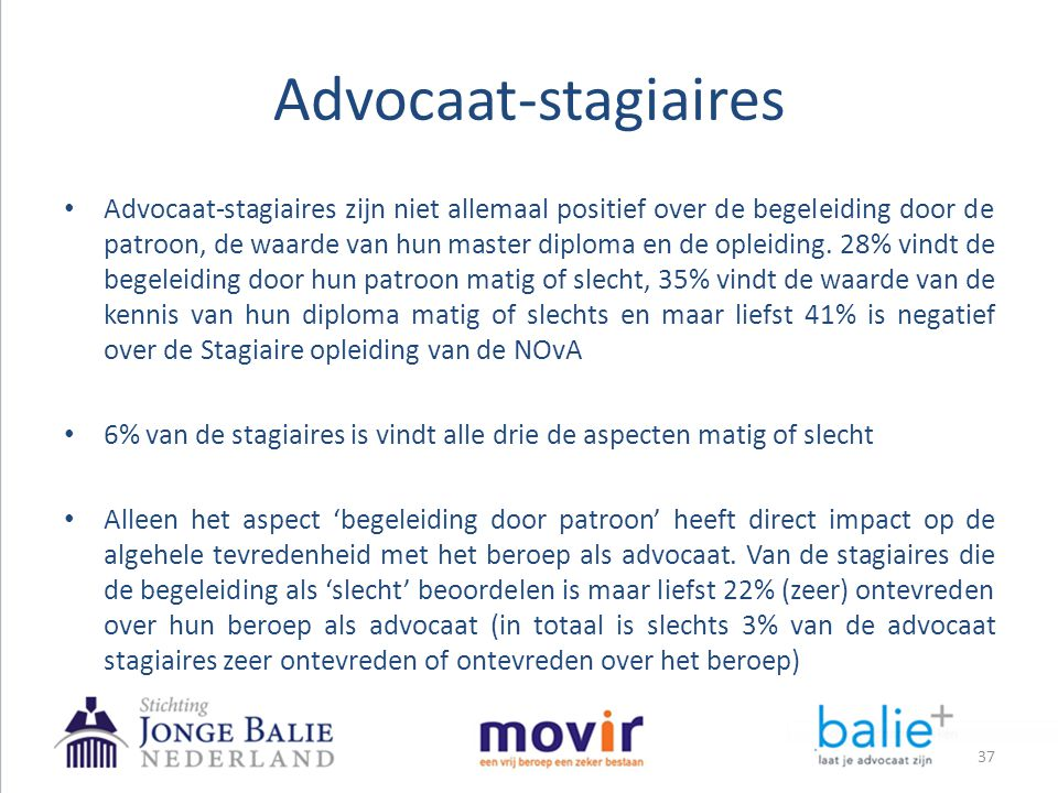 Advocaat-stagiaires