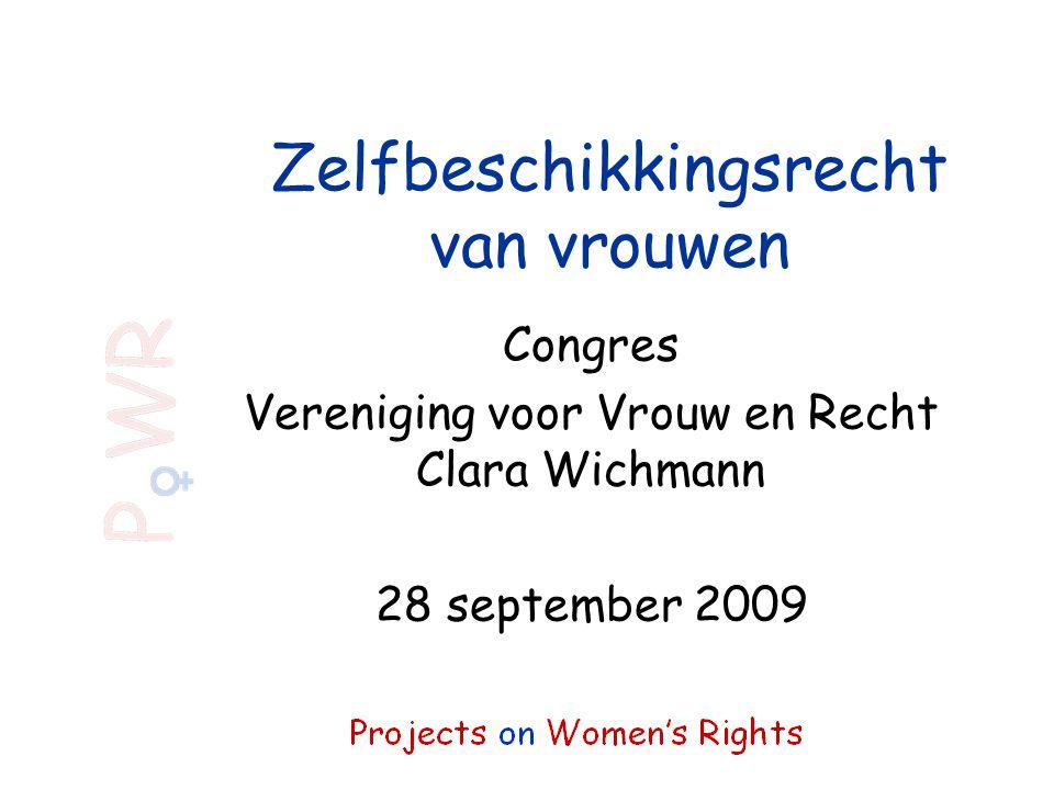 Zelfbeschikkingsrecht van vrouwen