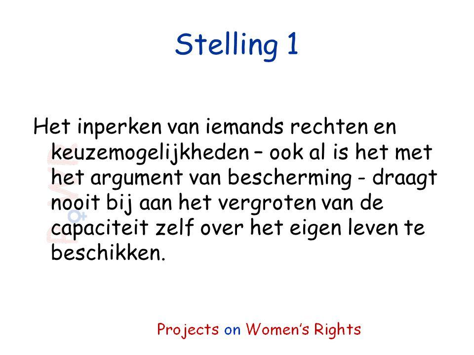 Stelling 1