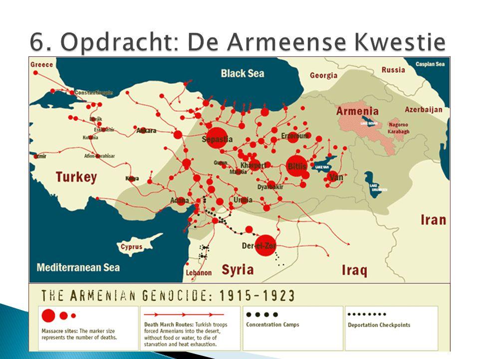 6. Opdracht: De Armeense Kwestie