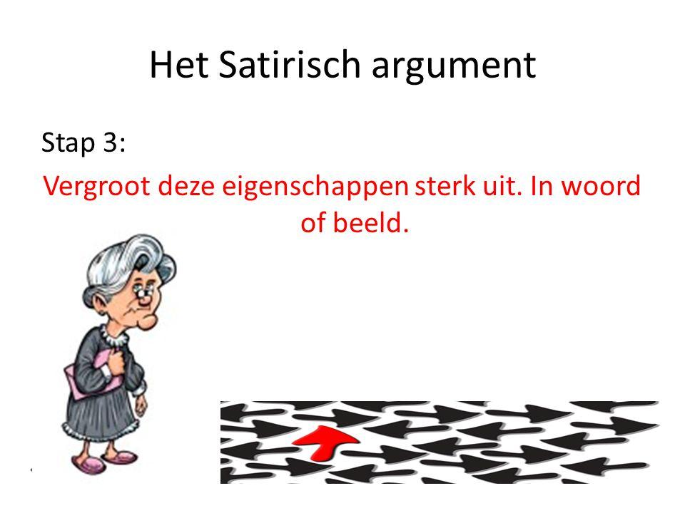 Het Satirisch argument