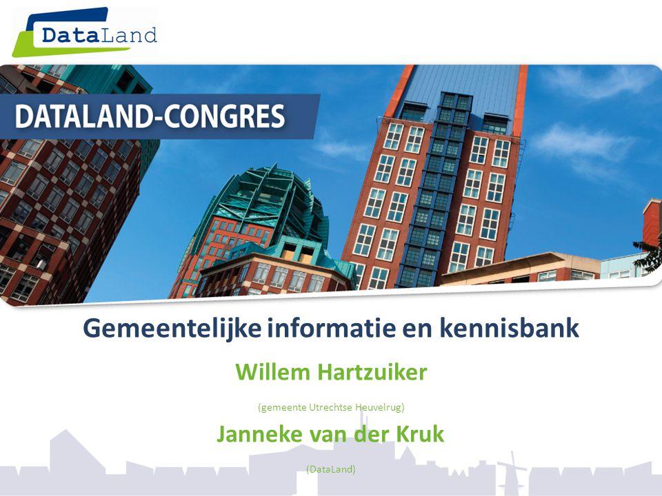 Gemeentelijke informatie en kennisbank