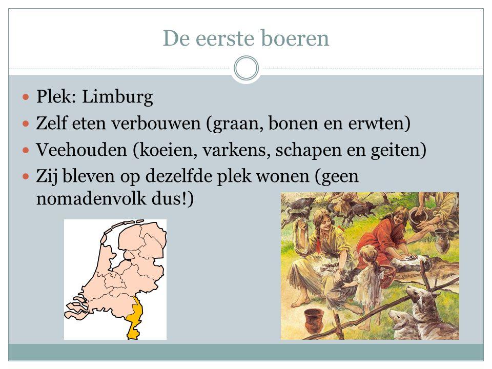 De eerste boeren Plek: Limburg