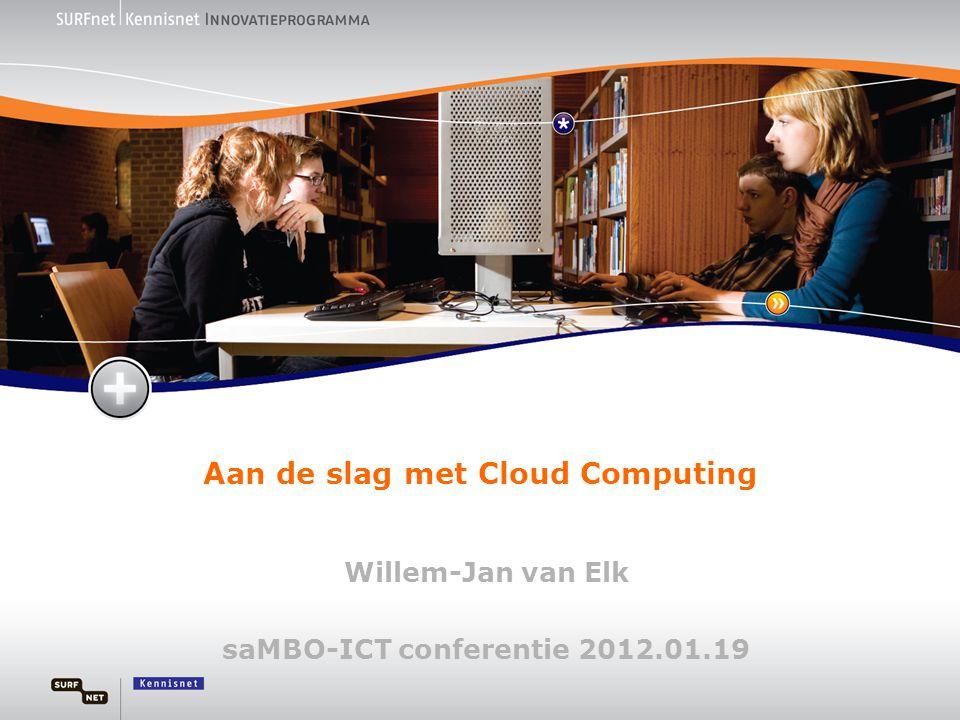 Aan de slag met Cloud Computing