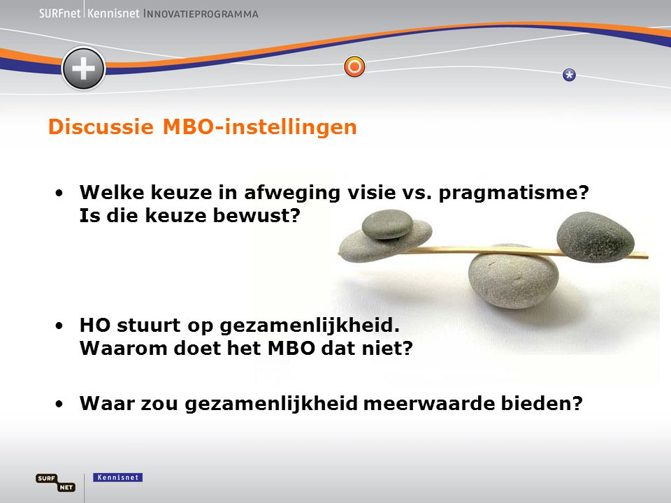 Discussie MBO-instellingen
