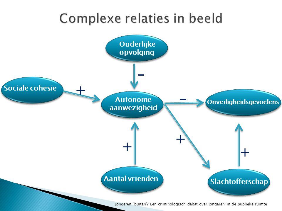 Complexe relaties in beeld