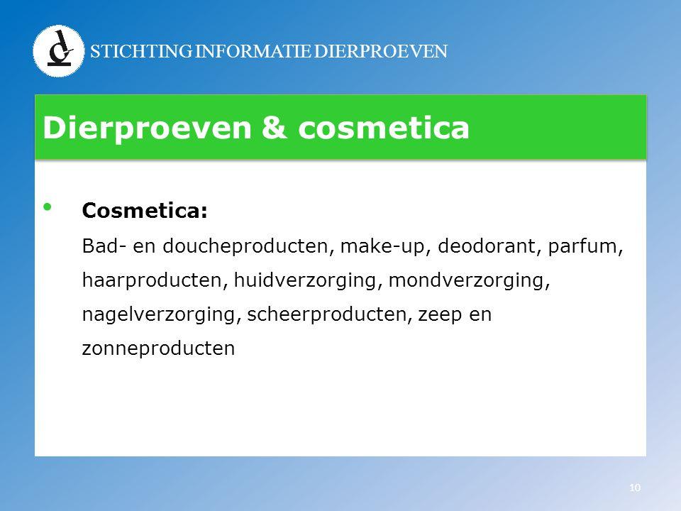 Dierproeven & cosmetica