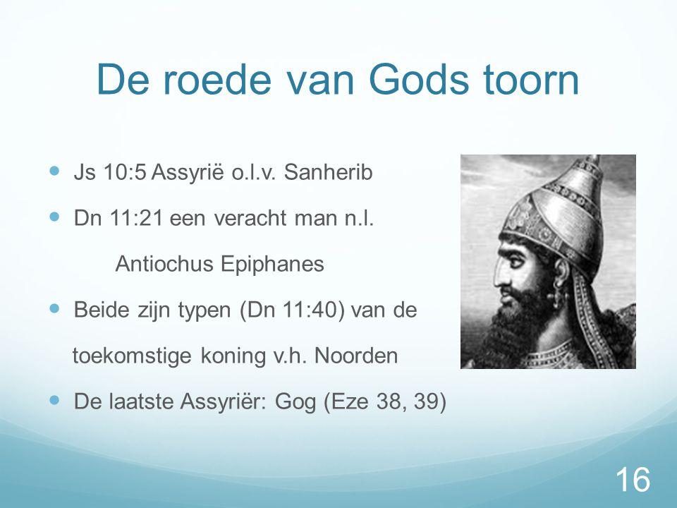 De roede van Gods toorn Js 10:5 Assyrië o.l.v. Sanherib