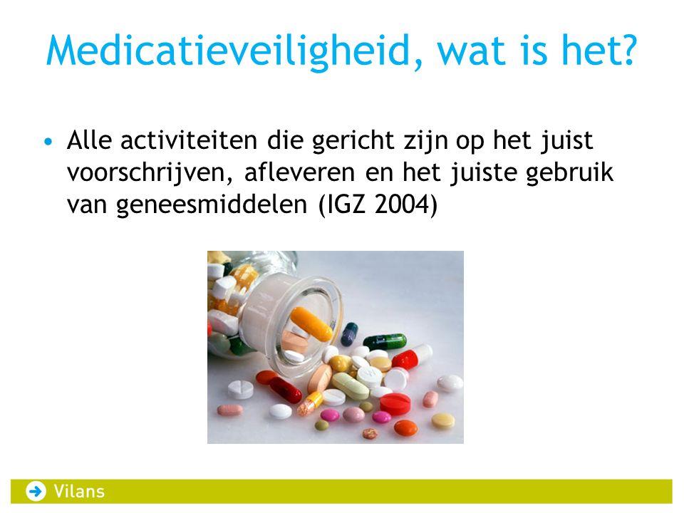 Medicatieveiligheid, wat is het