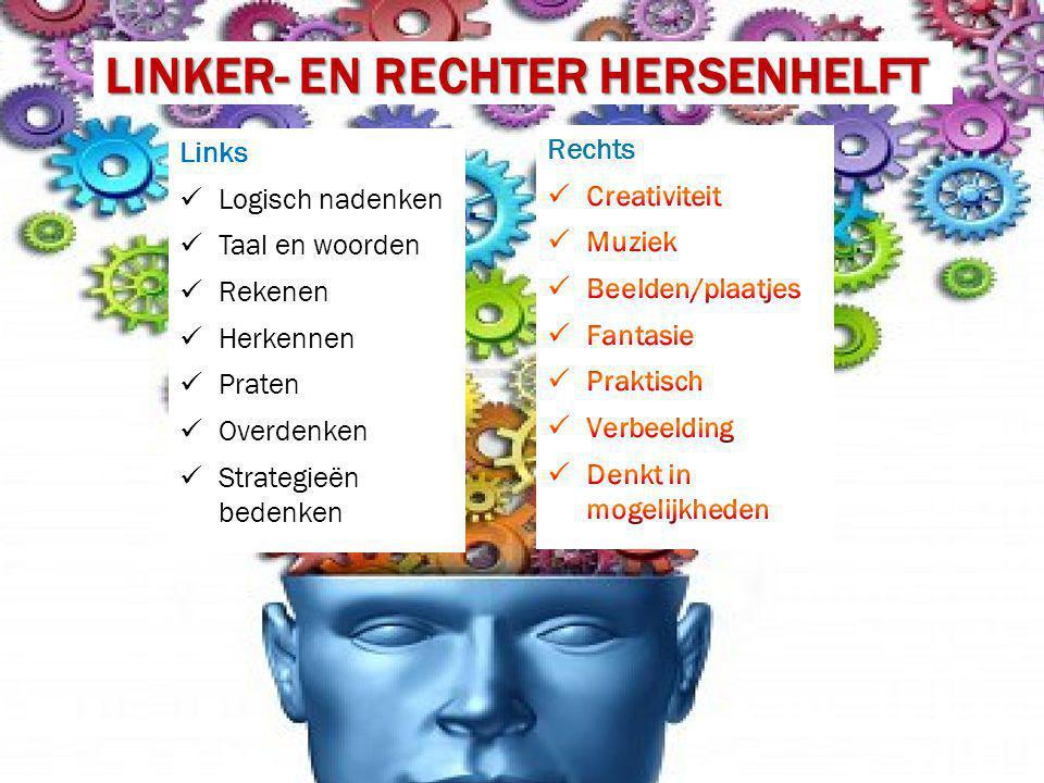 linker- en rechter hersenhelft