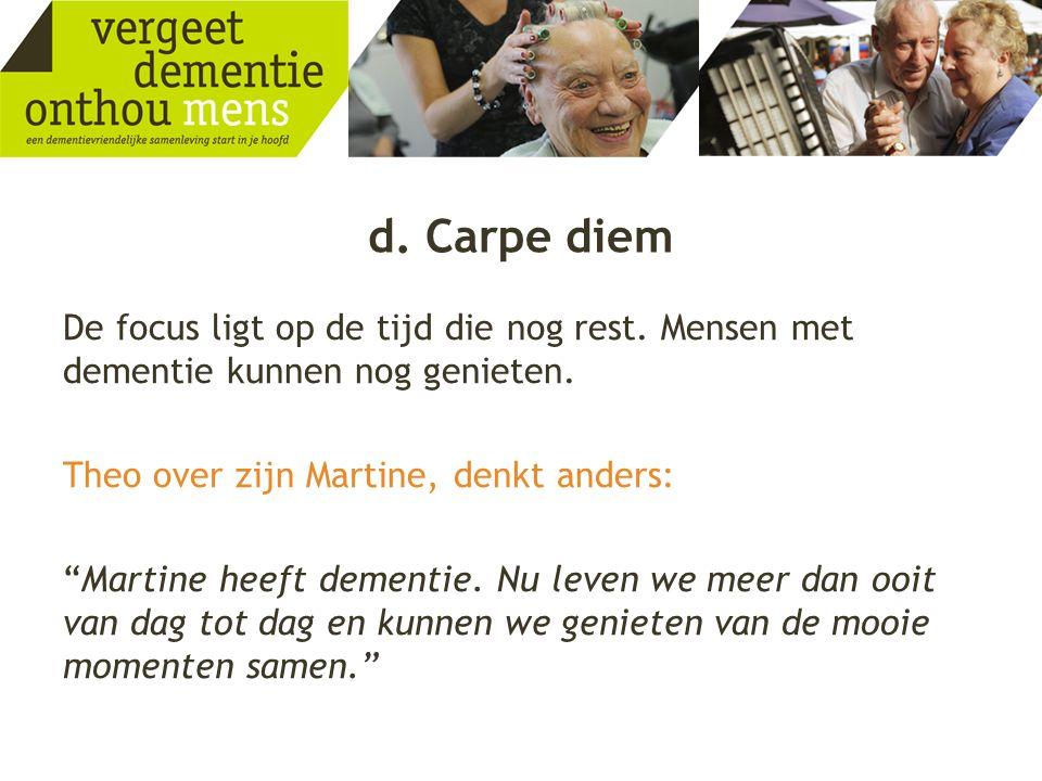 d. Carpe diem