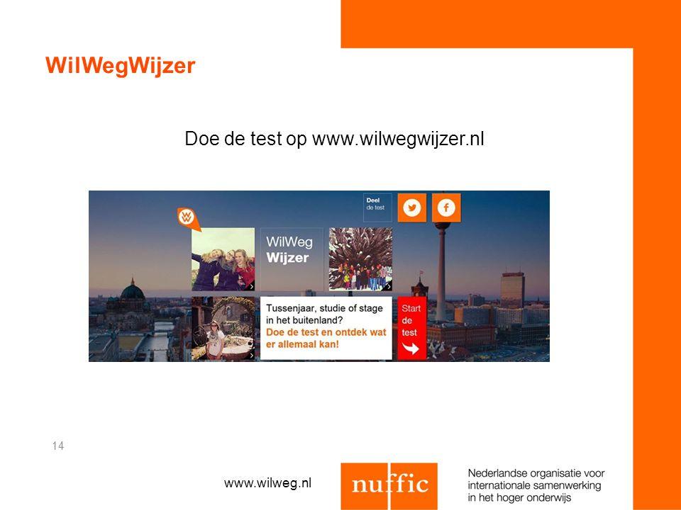 Doe de test op www.wilwegwijzer.nl
