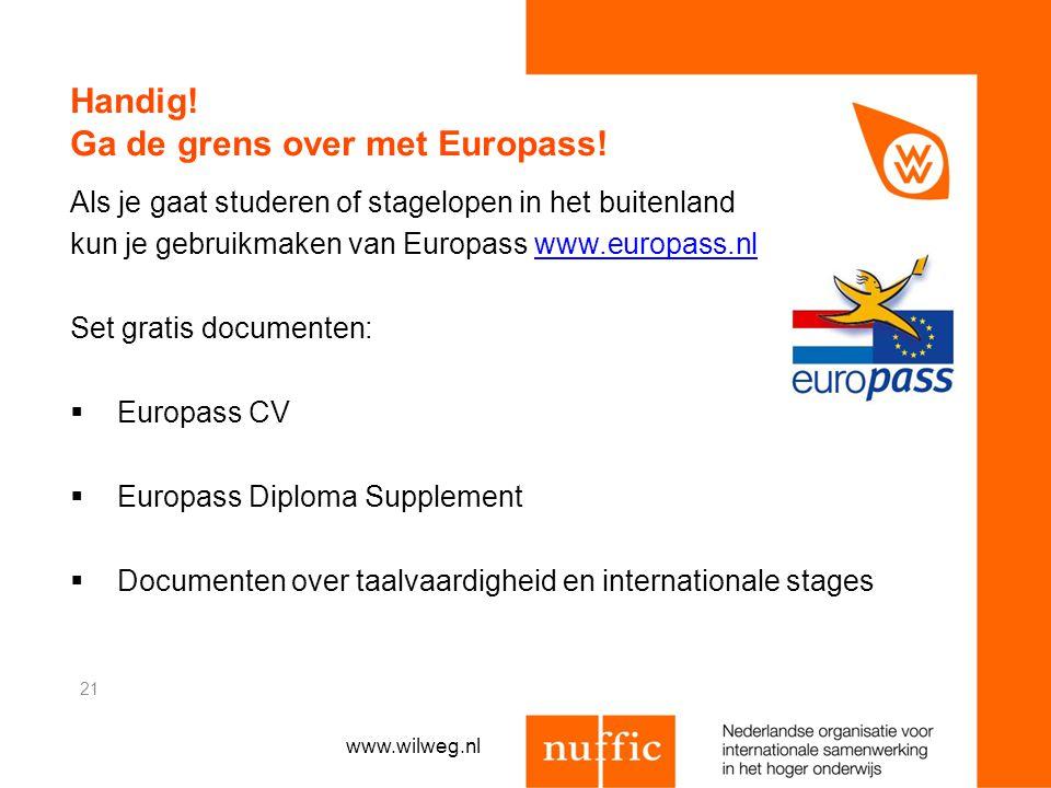 Handig! Ga de grens over met Europass!