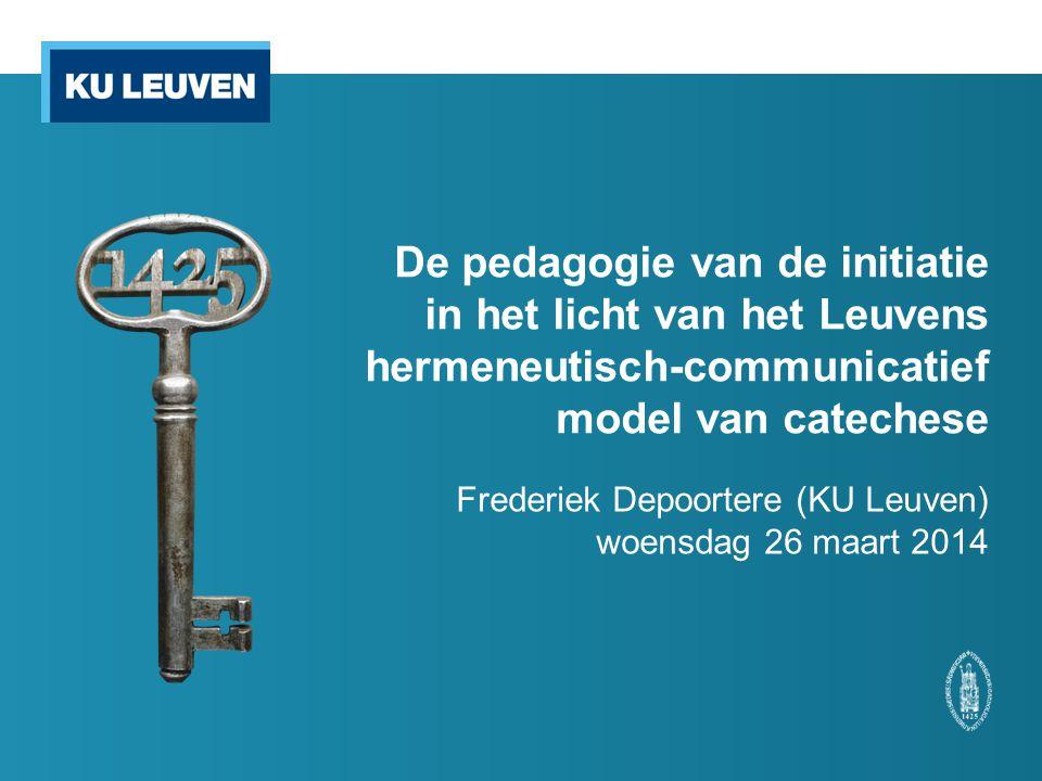 Frederiek Depoortere (KU Leuven) woensdag 26 maart 2014