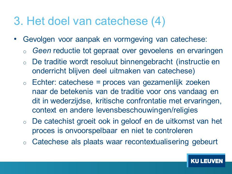 3. Het doel van catechese (4)