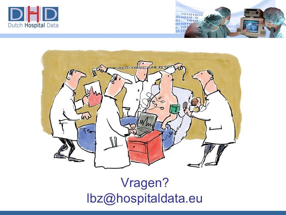 Vragen lbz@hospitaldata.eu