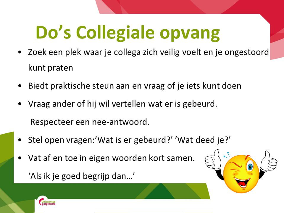 Do's Collegiale opvang
