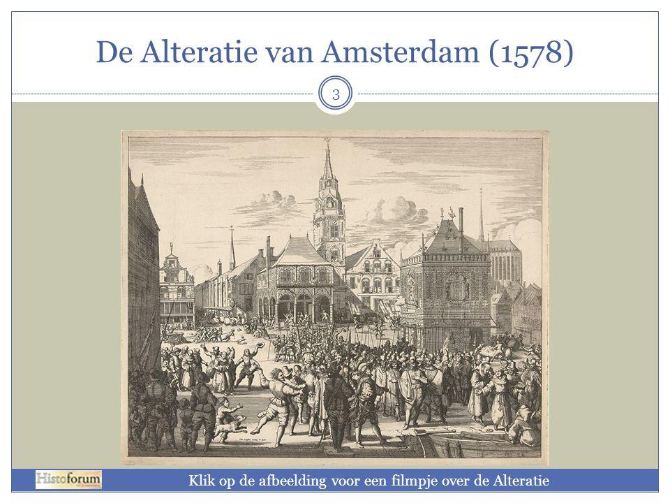 De Alteratie van Amsterdam (1578)