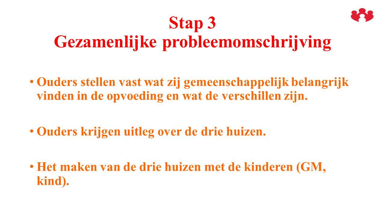 Stap 3 Gezamenlijke probleemomschrijving