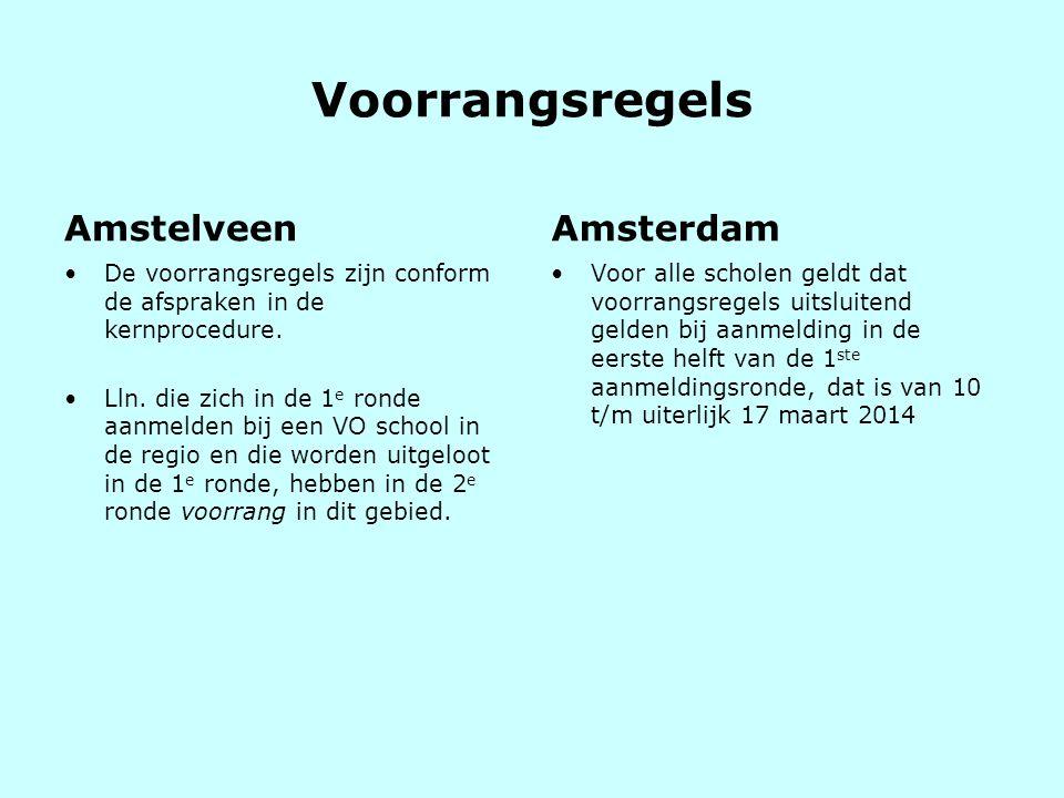 Voorrangsregels Amstelveen Amsterdam