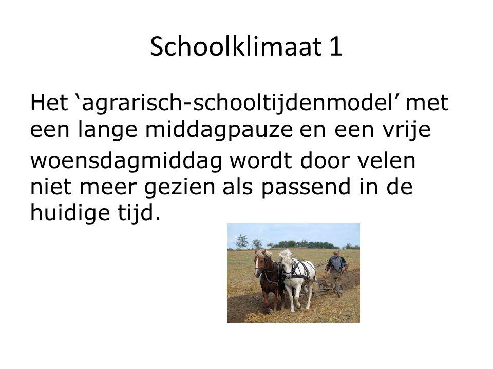Schoolklimaat 1