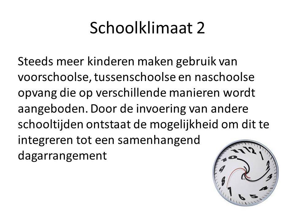 Schoolklimaat 2