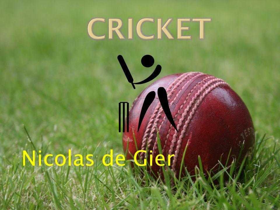 Cricket Nicolas de Gier
