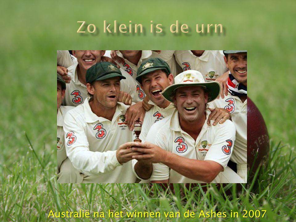 Australië na het winnen van de Ashes in 2007