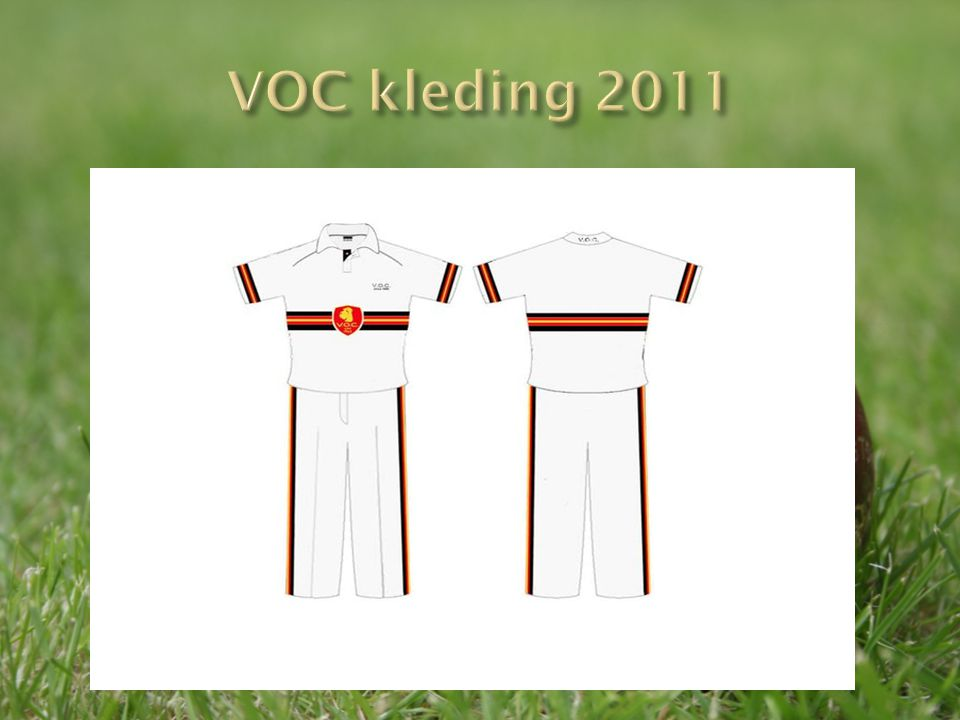 VOC kleding 2011
