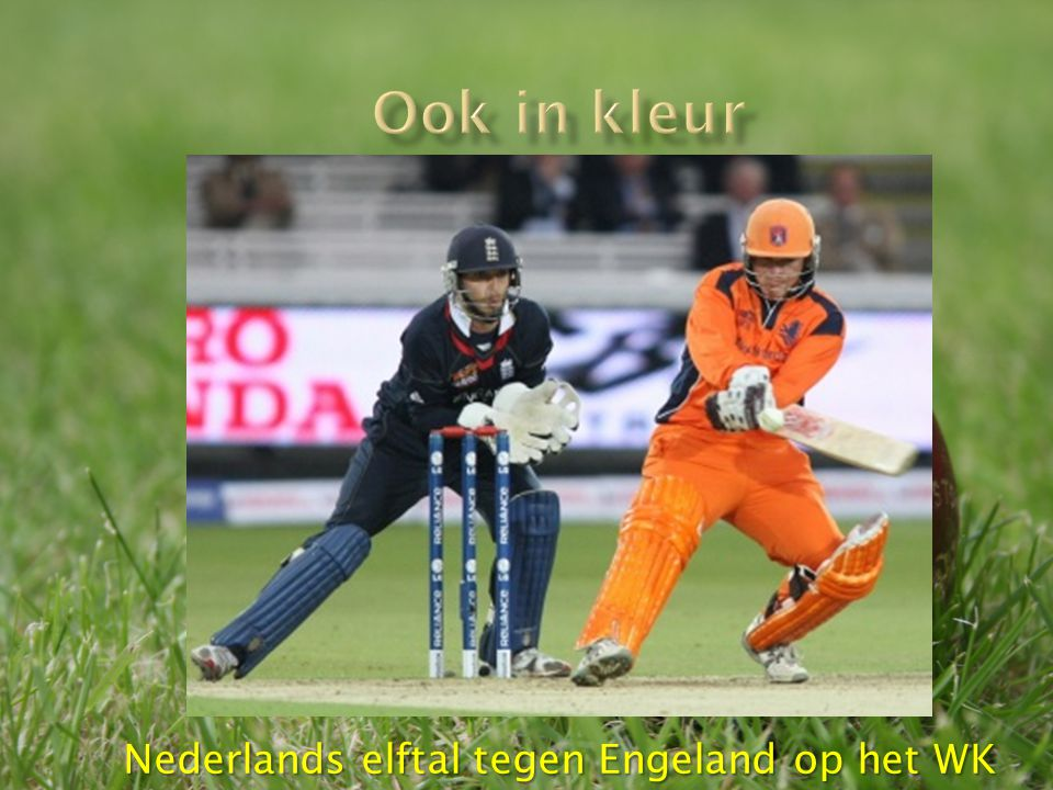 Nederlands elftal tegen Engeland op het WK