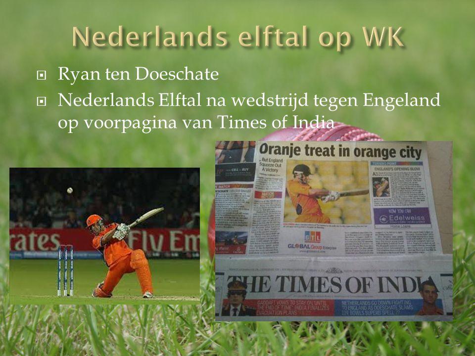 Nederlands elftal op WK
