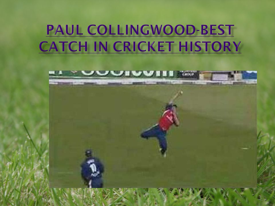 Paul Collingwood-best catch in cricket history