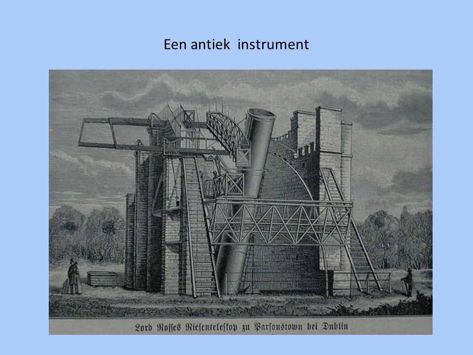 Een antiek instrument
