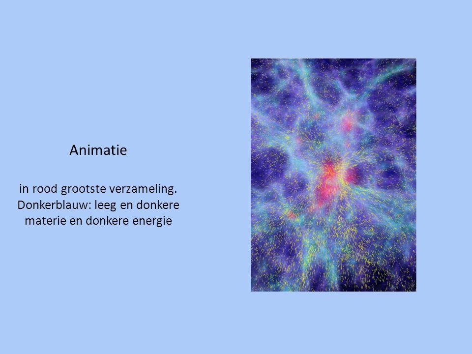 Animatie in rood grootste verzameling