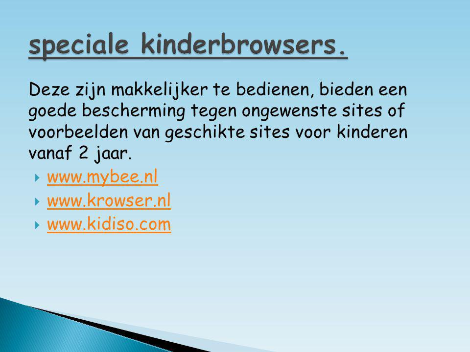 speciale kinderbrowsers.
